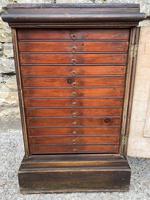 Georgian Collectors Tabletop Specimen Cabinet (14 of 26)