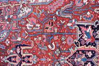 Antique Heriz Carpet 366x228cm (7 of 10)