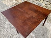 Antique Georgian Mahogany Fold Over Tea Table (21 of 27)