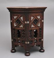 19th Century Moorish Occasional Table (6 of 9)