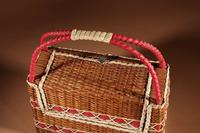 Art Deco Very Stylish Woven Wicker Willow Bag (6 of 7)