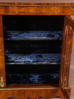 Victorian Pier Cabinet in Burr Walnut (7 of 8)