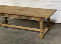 Superb Quality Large Bleached Oak Farmhouse Dining Table (13 of 32)