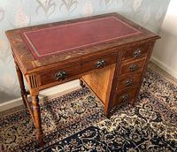 Small Arts & Crafts Oak Desk c.1907 (2 of 6)