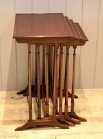 Mahogany Nest of Four Tables (6 of 11)