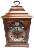 Fine Vintage Caddy Top Mantel Clock Dual Musical Bracket Clock by Elliott (4 of 13)