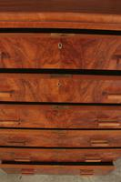 Art Deco Figured Walnut Chest by Maple & Co. (13 of 13)