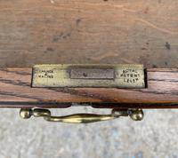 Huge Antique Victorian Oak Partners Desk (11 of 24)