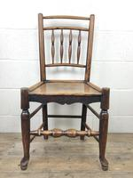 Set of Four 19th Century Elm Country Chairs (11 of 13)