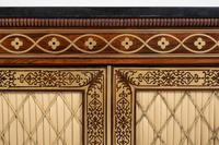 Amazing Rosewood and brass inlaid side cabinet (2 of 9)