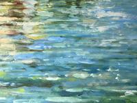 Large Italian Art Impressionism Oil Marine Painting Ships Docked Island Giudecca Venice Waterfront (5 of 12)