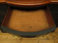 Art Nouveau Black Painted Sideboard, Gothic shabby chic (13 of 16)