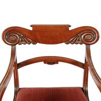 Georgian Mahogany Sabre Leg Chair (7 of 8)