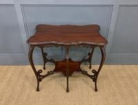 Rococo Style Mahogany Occasional Table (7 of 10)