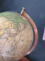 "1920's 8"" Papier Mache Terrestrial Globe (7 of 7)"