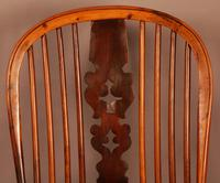 Yew Wood High Windsor Chair c.1850 (8 of 9)