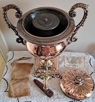 Antique English Late Georgian Copper Tea Urn / Samovar (15 of 16)