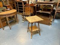 Victorian Bamboo Occasional Table (7 of 7)