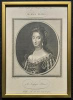 Rare Set of 12 Original 18th Century Engraving's of Kings & Queens of England (12 of 18)