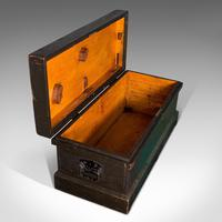Antique Shipwright's Chest, English, Craftsman's Tool Trunk, Victorian c.1900 (9 of 12)