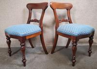 Set of Six Mahogany Dining Chairs In The Victorian Style (9 of 10)