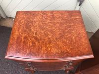 Pair of Antique Burr Walnut Bedside Chests (4 of 9)