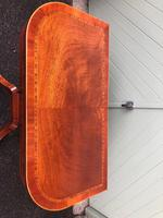 Quality Inlaid Mahogany Fold Over Games Table (6 of 12)