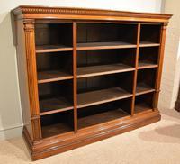 19th Century Triple Section Mahogany Bookcase (2 of 8)
