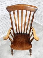 Large 'Grandfather' Windsor Lathback Armchair (2 of 6)