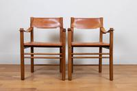 Leather Ibisco Sedie Chairs We Have 2 (12 of 13)