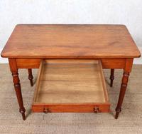 Edwardian Mahogany Writing Desk Table (4 of 12)