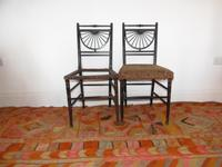 Pair of Chairs in the manner of E.W.Godwin (11 of 11)