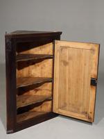 Late Georgian Oak Corner Cupboard (2 of 3)