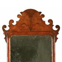 18th Century Style Walnut Mirror (3 of 8)