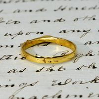 The Ancient Medieval Green & Gold Bishop's Stirrup Ring (5 of 5)