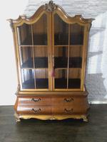 Dutch Walnut Bookcase