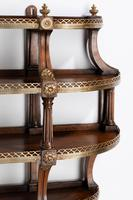 Most Unusual Pair of Four Height Mahogany Wall Shelves (3 of 4)