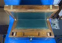 Victorian Brass-bound Walnut Writing Slope with Secret Drawers (22 of 39)