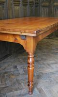 Large Extending Cherrywood Farmhouse Table (7 of 12)
