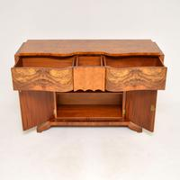 Art Deco Burr Walnut Console Table by Hille (7 of 12)