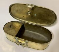 Antique Eastern Brass Dowry Box (9 of 11)