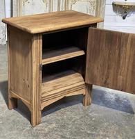 Small Bleached Oak Cupboard (9 of 20)