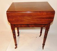 Georgian Mahogany Pembroke work Table (4 of 8)