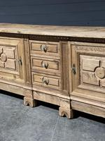 Large French Bleached Oak French Sideboard (5 of 24)