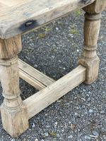 Rustic Bleached Oak French Farmhouse Dining Table (8 of 34)