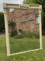 Large Painted Overmantel Mirror (5 of 6)