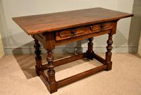 Early 18th Century Spanish Walnut Serving Side Table (4 of 7)