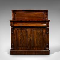 Antique Chiffonier, English, Mahogany, Sideboard, Cabinet, Victorian, Circa 1880 (3 of 12)