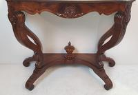 Pair of 19th Century Marble Topped Walnut Console Tables (6 of 9)