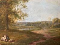 E Van Drielst, A 19th Century Oil on Panel Landscape (5 of 6)